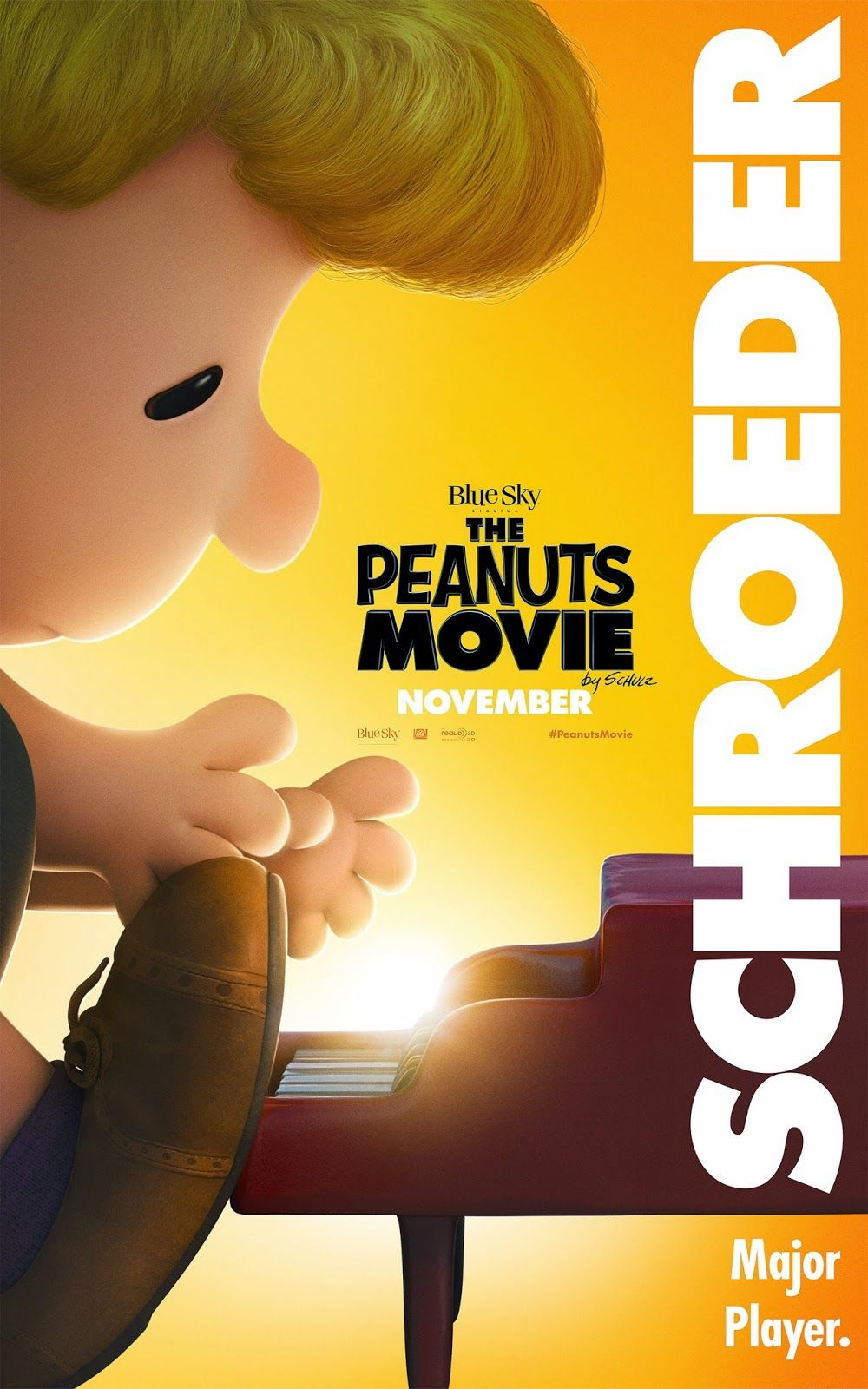 Something to Muse About: THE PEANUTS MOVIE NEW Character Posters ...