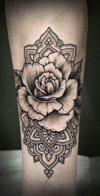 Flower Color Shading Tattoos Neck Tattoo Sleeve Tattoos