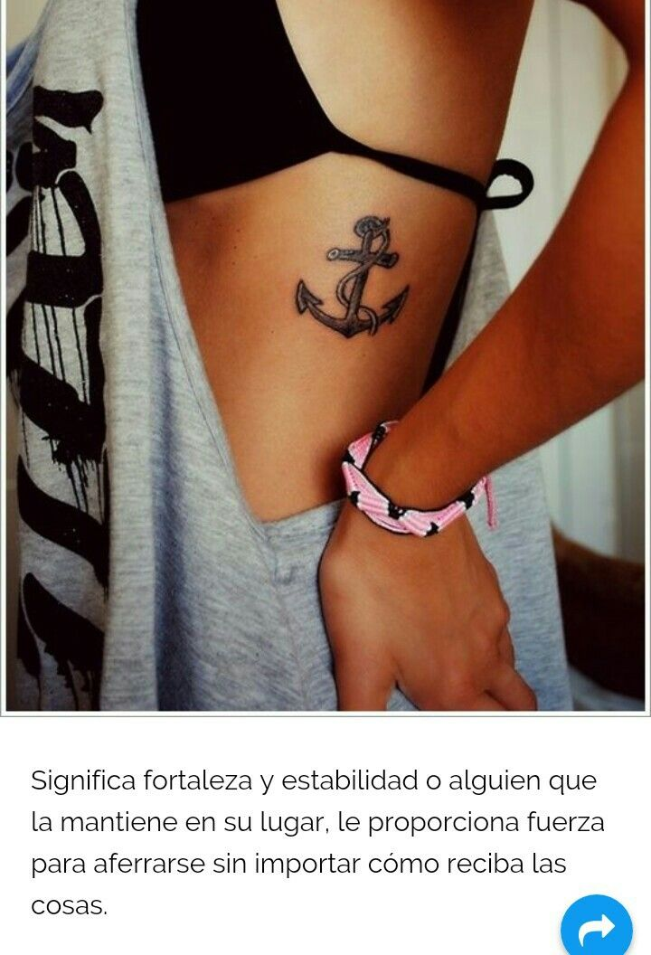 Ancla Significado Simbolo Tatuaje Tattoo Ideas Pinterest