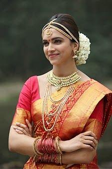 Deepika Padukone Chennai Express Beautiful Indian Brides South Indian Wedding Hairstyles Indian Bridal