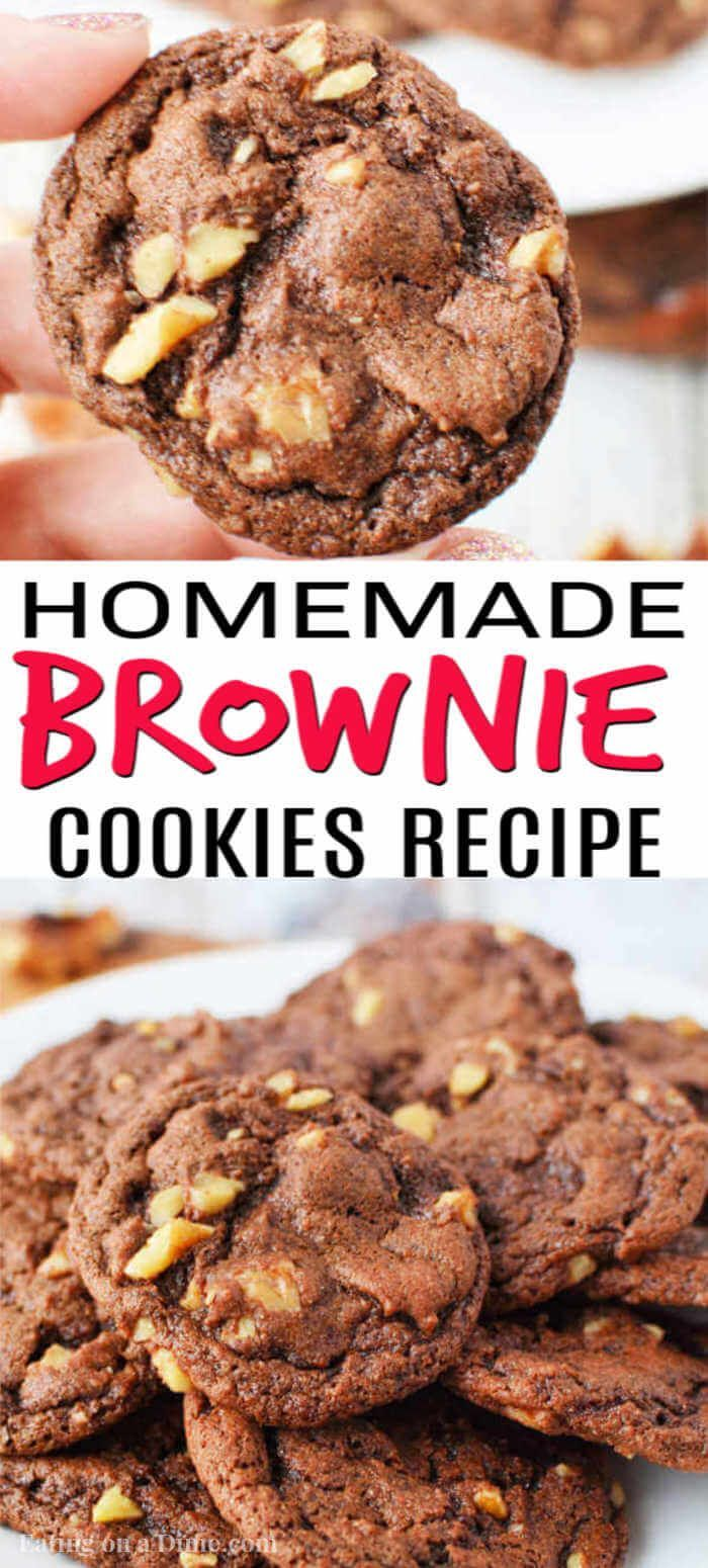 Moist and Rich Brownie Cookies Recipe Delicious
