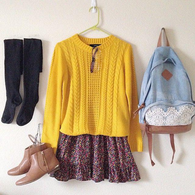 #bright #sweater #romwe