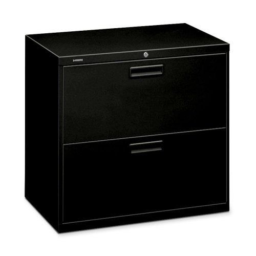"""HON 500 Series 30"""" Wide Lateral Files - 30"""" x 19.25"""" x 28.38"""" - Steel - 2 x File Drawer(s) - Legal, Letter - Security Lock, Leveling Glide, Durable, Label Holder, Recessed Handle, Ball-bearing Suspension - Black by HON Products. $352.03. HON 500 Series 30"""" Wide Lateral Files - 30"""" x 19.25"""" x 28.38"""" - Steel - 2 x File Drawer(s) - Legal, Letter - Security Lock, Leveling Glide, Durable, Label Holder, Recessed Handle, Ball-bearing Suspension - Black Lateral filing cab..."""