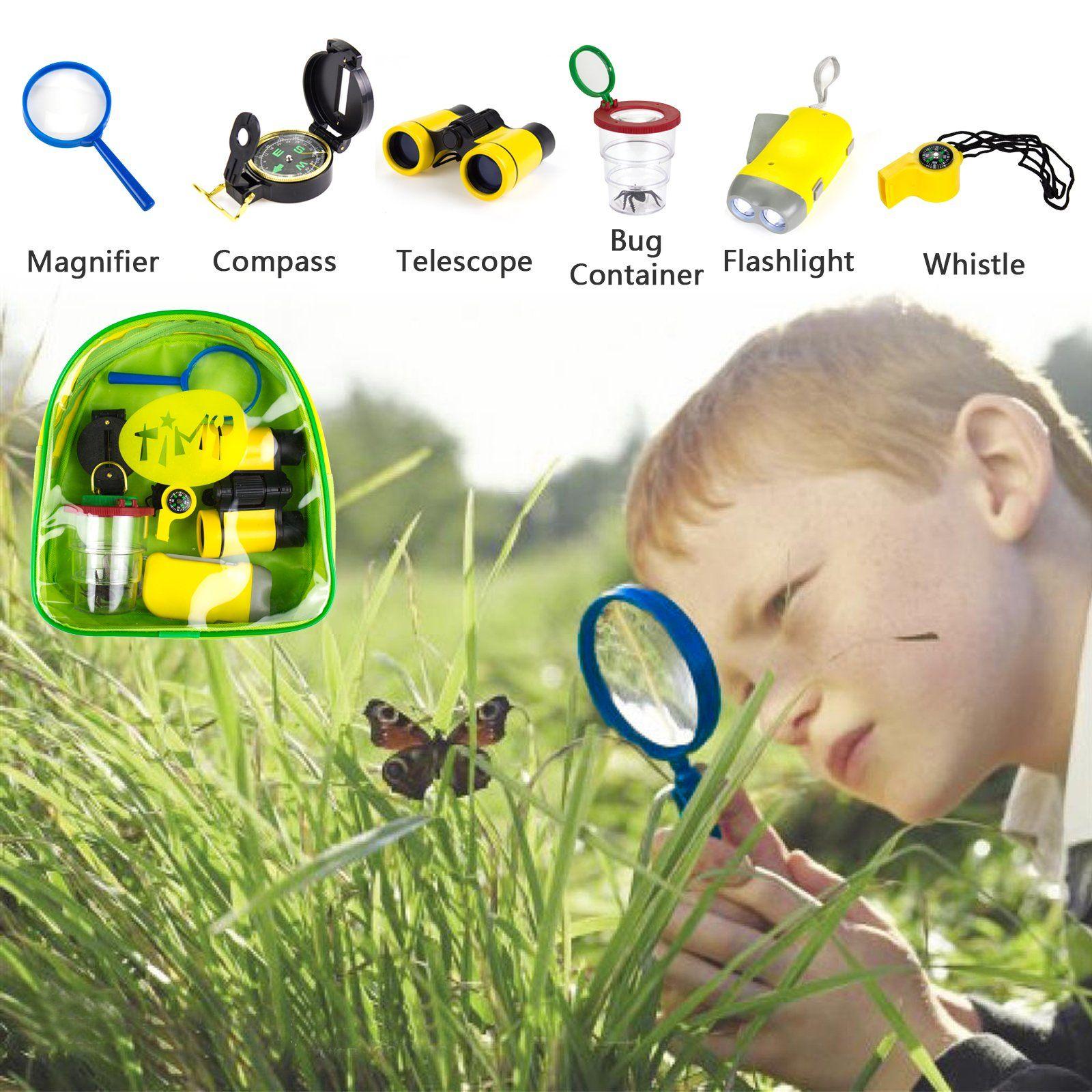 timy 6 in 1 outdoor exploration kit for kids adventurer