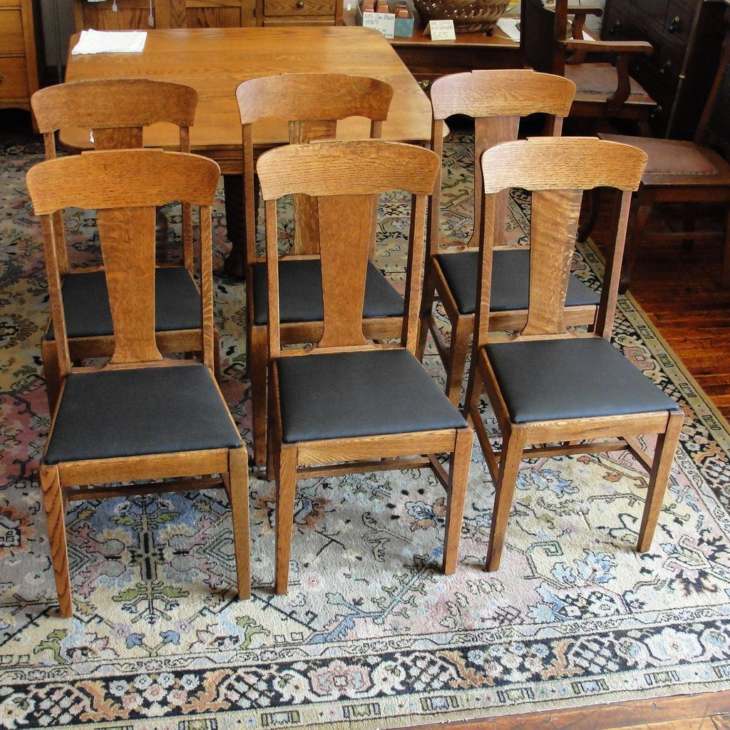 Outstanding Set Of 6 Early 1900S Oak T Back Dining Chairs In 2019 Cjindustries Chair Design For Home Cjindustriesco