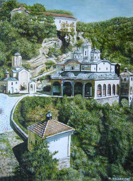St. Joakim Osogovski-Macedonia, Nikola Golubovski ________in stock 1000$