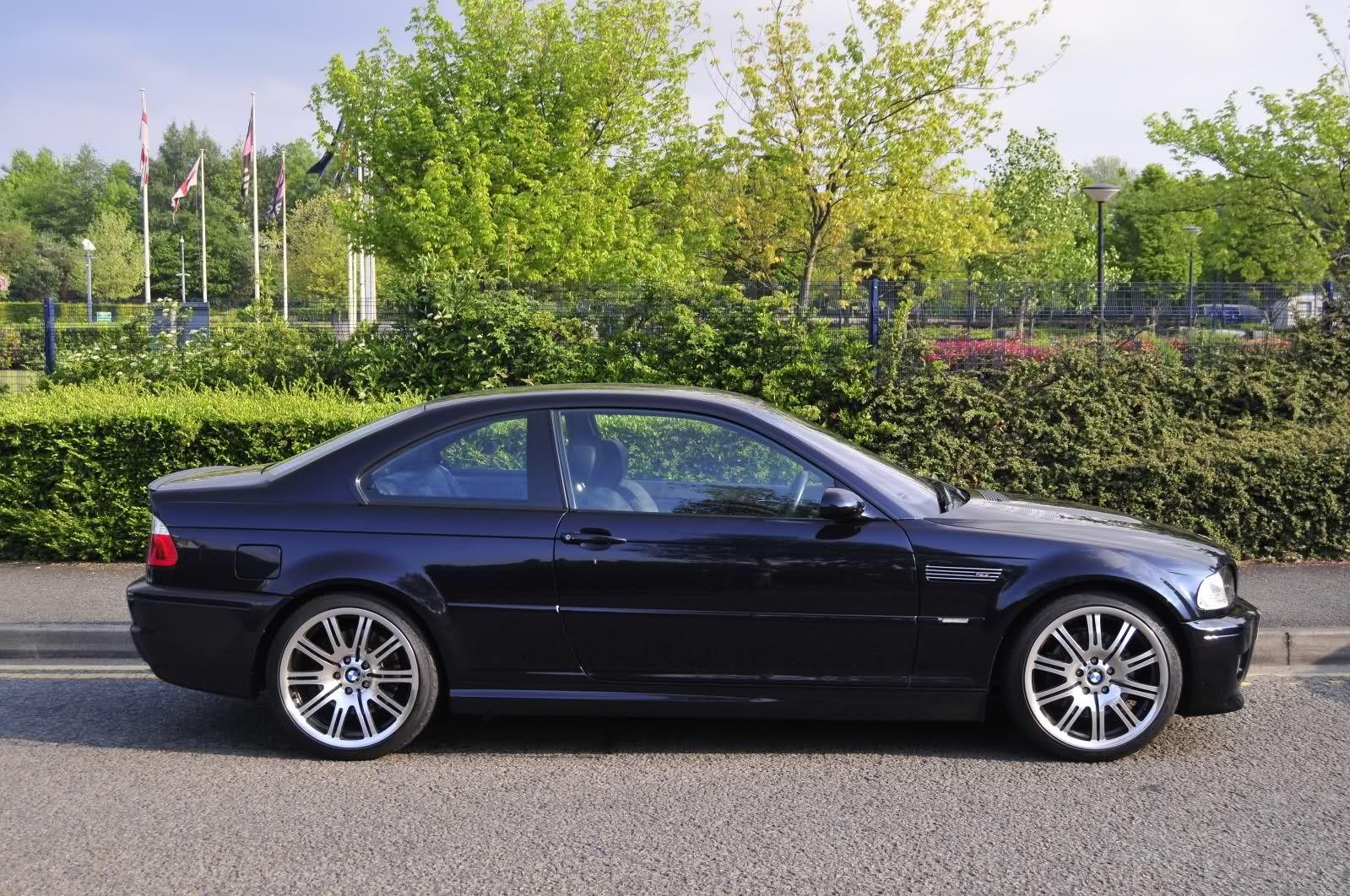 Bmw E46 M3 Csl Carbonschwarz Black Beauty