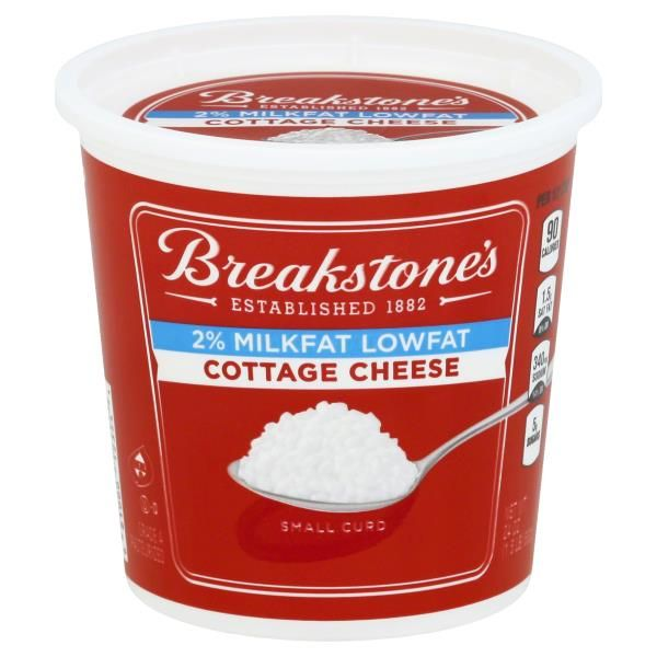 Breakstones Cottage Cheese Small Curd 2 Milkfat Lowfat Cottage Cheese Breakstone Cottage Cheese Delicious Parfait