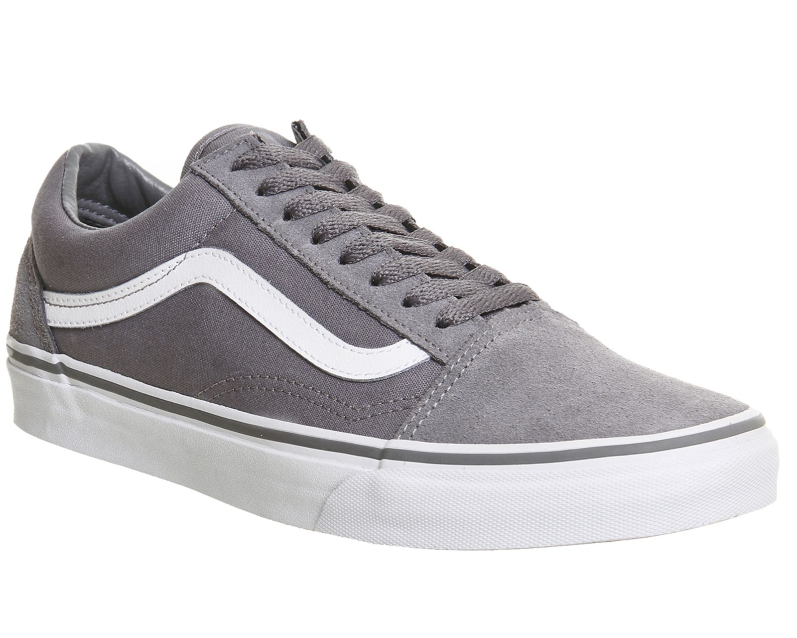 Vans Old Skool Trainers Frost Grey White - Unisex Sports