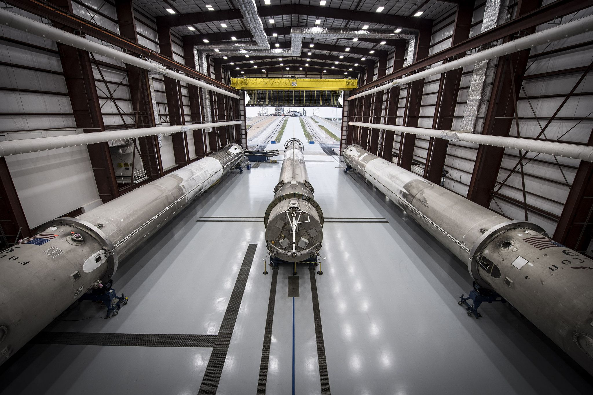 SpaceX puts its third booster in a barn—and the result is