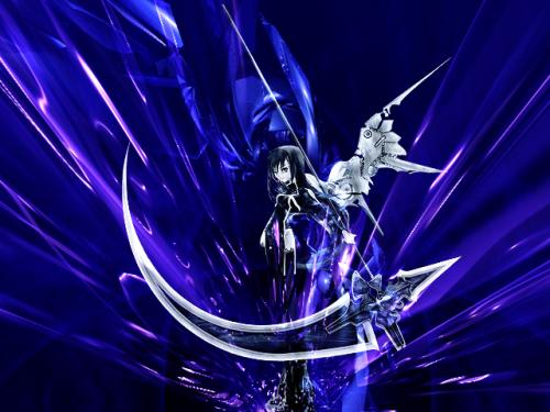 Anime Demon Girl With Scythe Google Search Anime Demon Girl Anime Demon