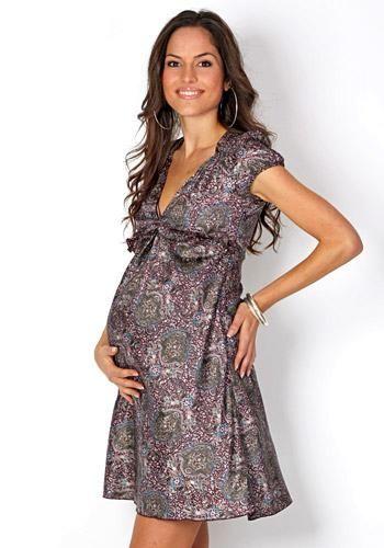 Modelos vestidos maternos modernos