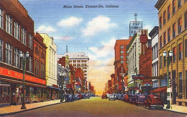 Evansville In At At Yahoo Search Results Vintage Postcards Postcard Evansville