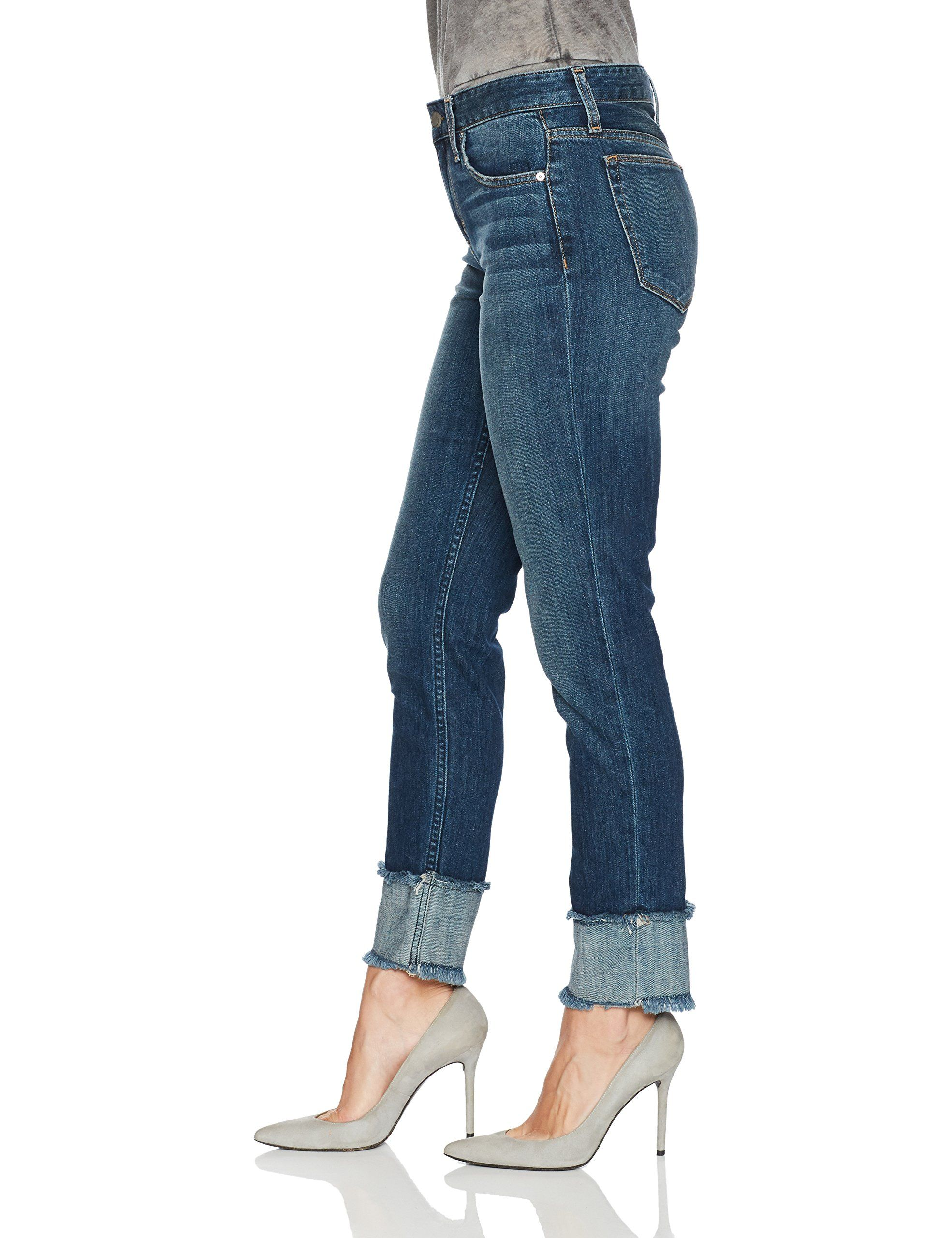 Joes Jeans Womens Smith Midrise Straight Crop Ankle Jean