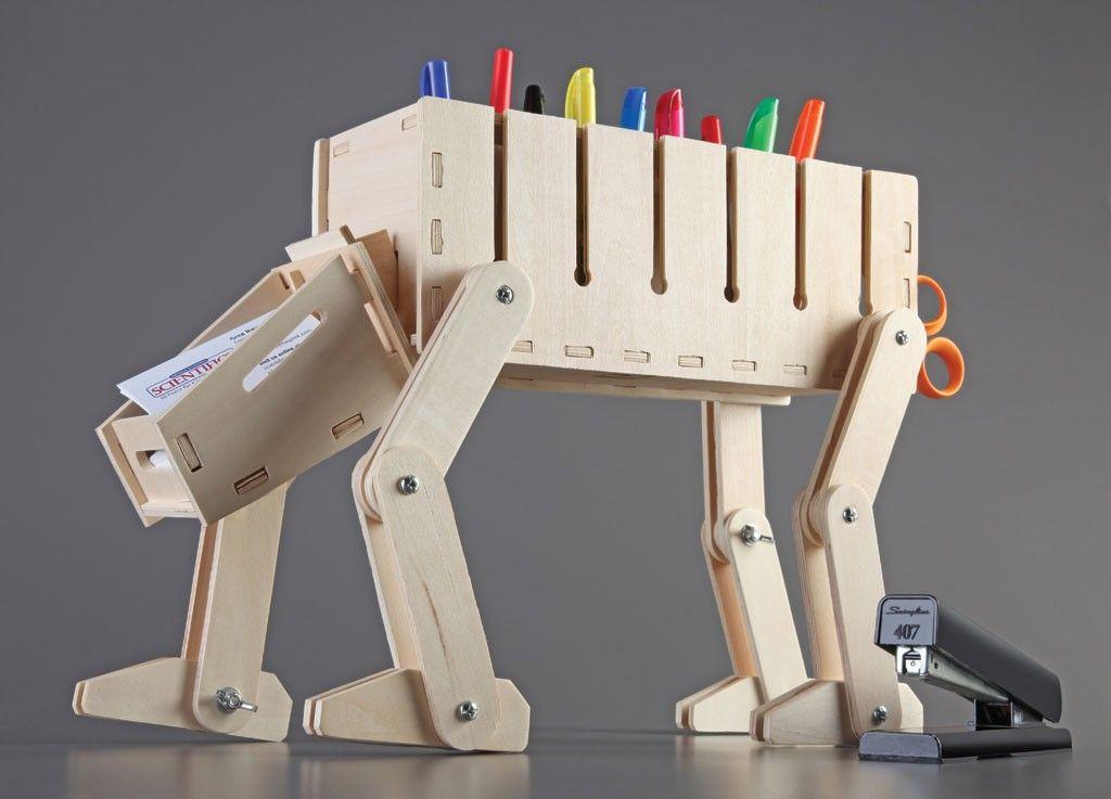 Diy Wooden Desk Organizer Star Wars At At Theme X Treme Geek