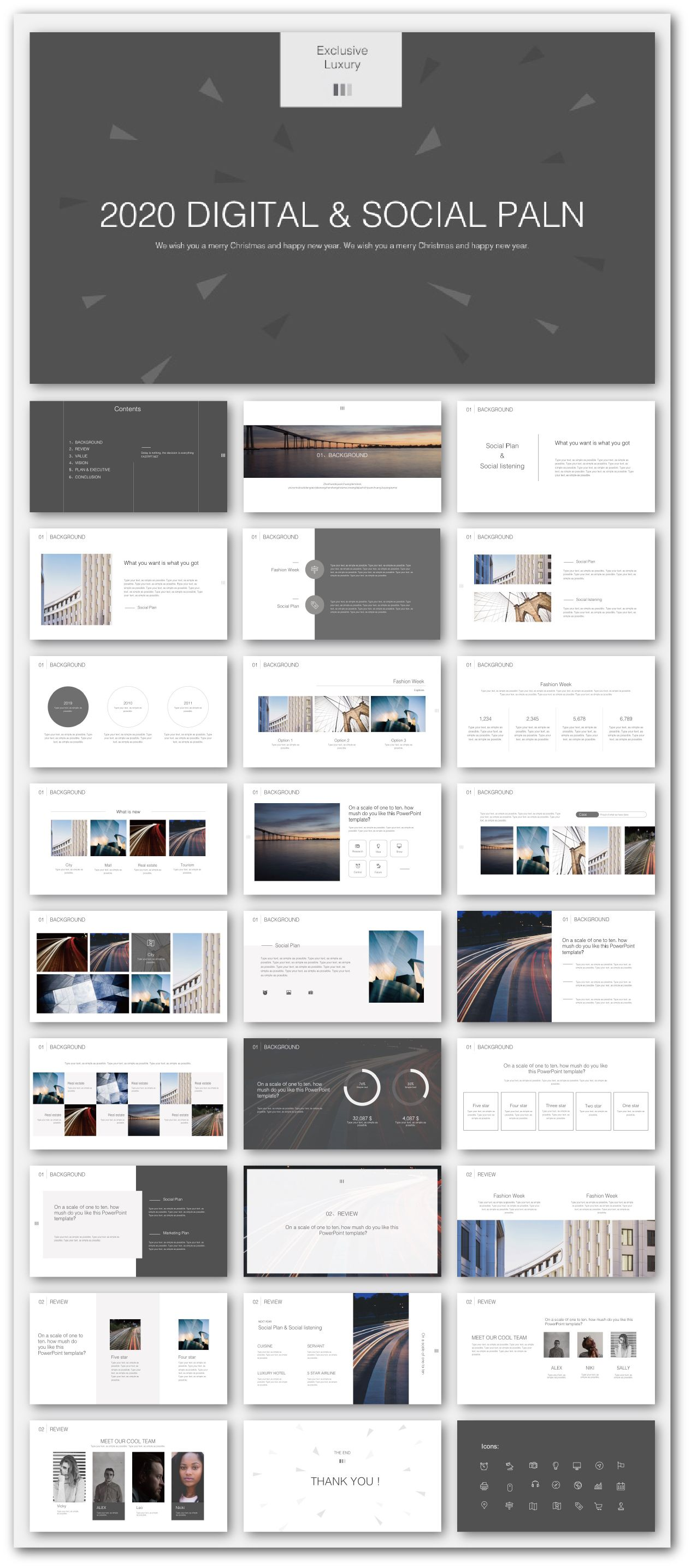Business Social Plan Presentation Template Original And High Quality Powerpoint Templates Powerpoint Presentation Design Powerpoint Design Templates Presentation Design Template
