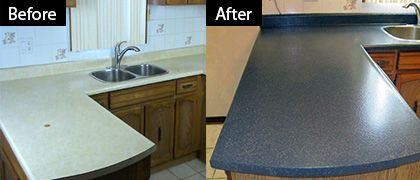 Roll On A New Stone Countertop Refinish Countertops Countertop