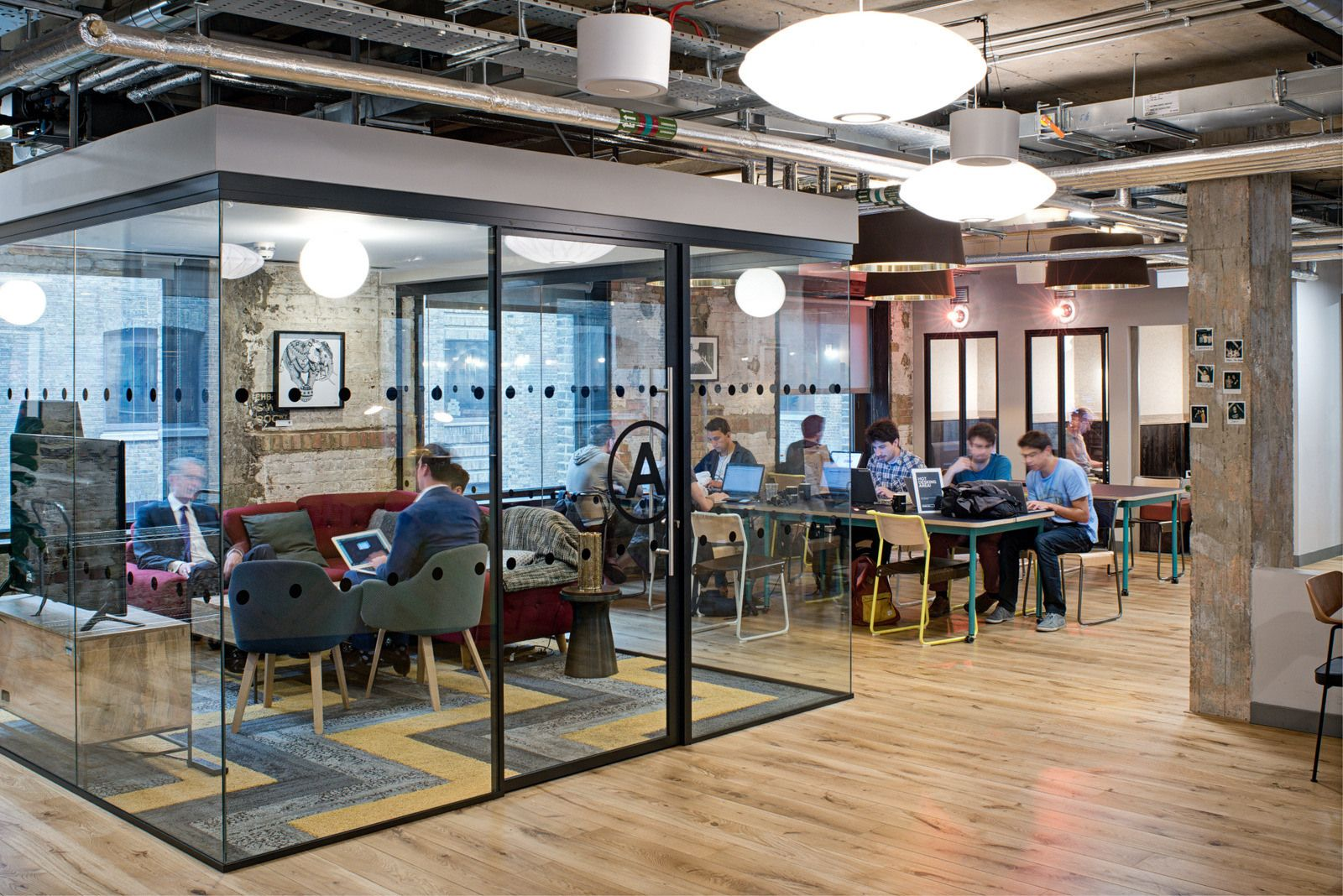 WeWork Devonshire Square Coworking Offices London
