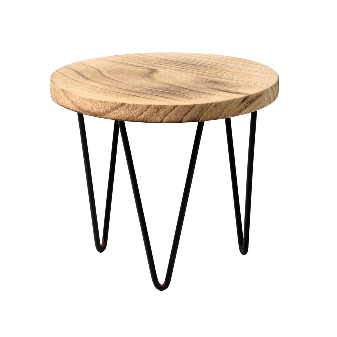 Table Pour 6 6 99 Woody Table Pour Plantes Salon Mobilier De Salon Deco
