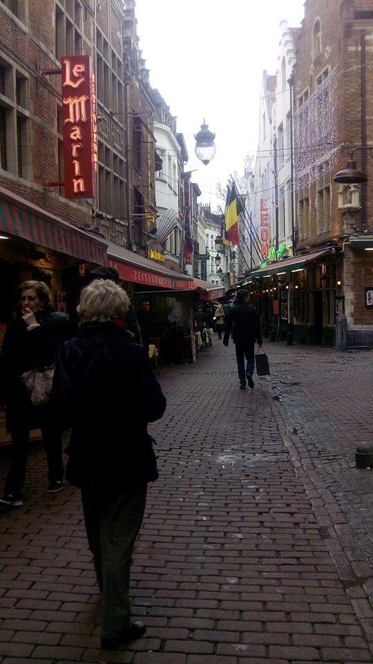 Bruselas. Bella y soleada