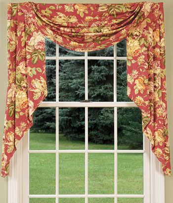 Amazing Curtain Valance Styles Decorating With Country Curtains Curtains Valances Curtain Rods Draperies Curtains Window Coverings Curtain Styles