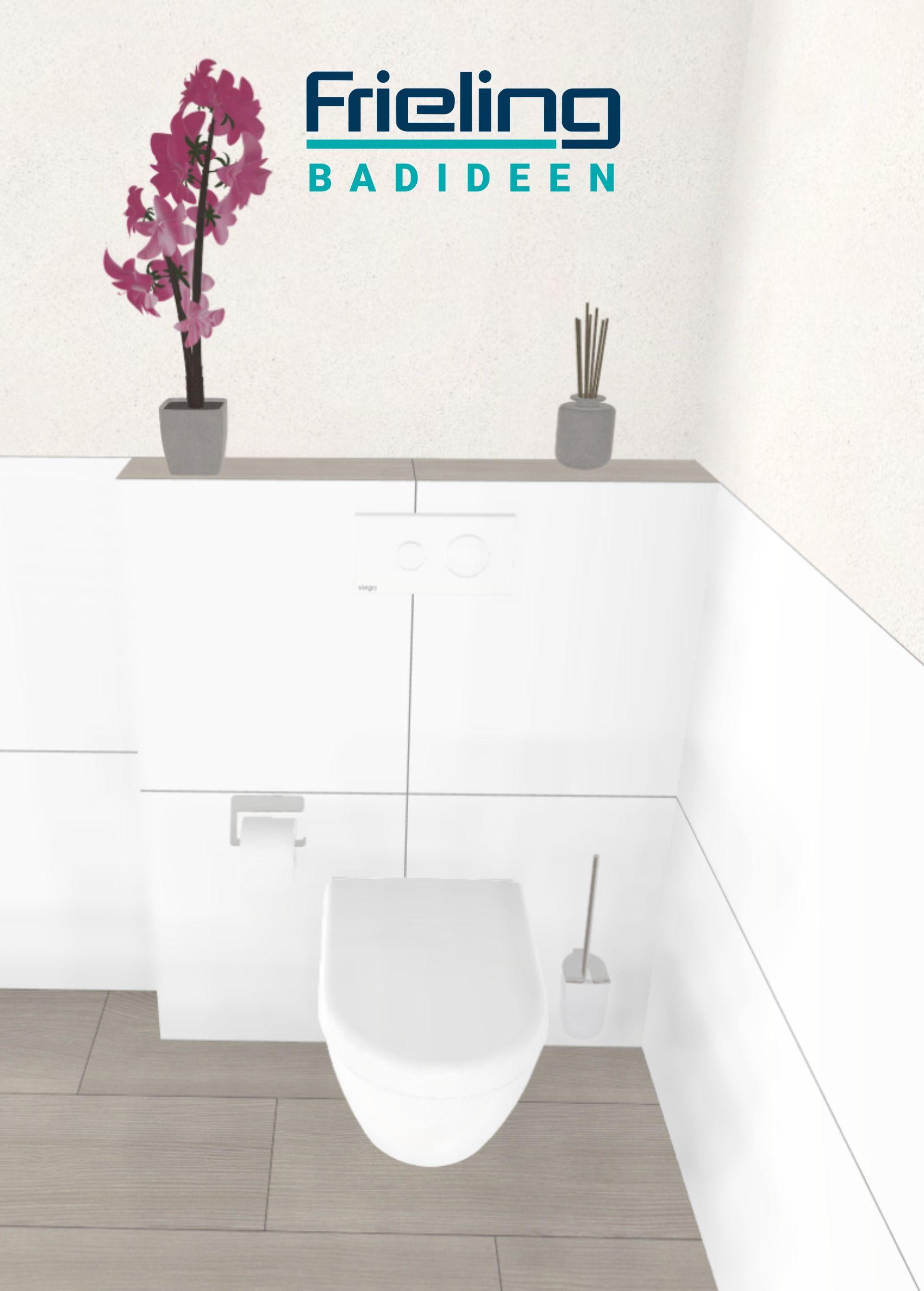 Das Verwinkelte Bad Ansicht Wc 13 Qm Ansicht Abgemauertes Wand Wc Bad Accessoires In 2020 Grosse Badezimmer Bad Bader Ideen