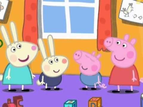Peppa Pig Francais La Maison De Rebecca Rabit School Videos Youtube Peppa Pig