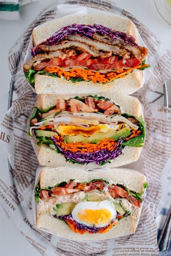 Wanpaku Sandwich #sandwichrecipes