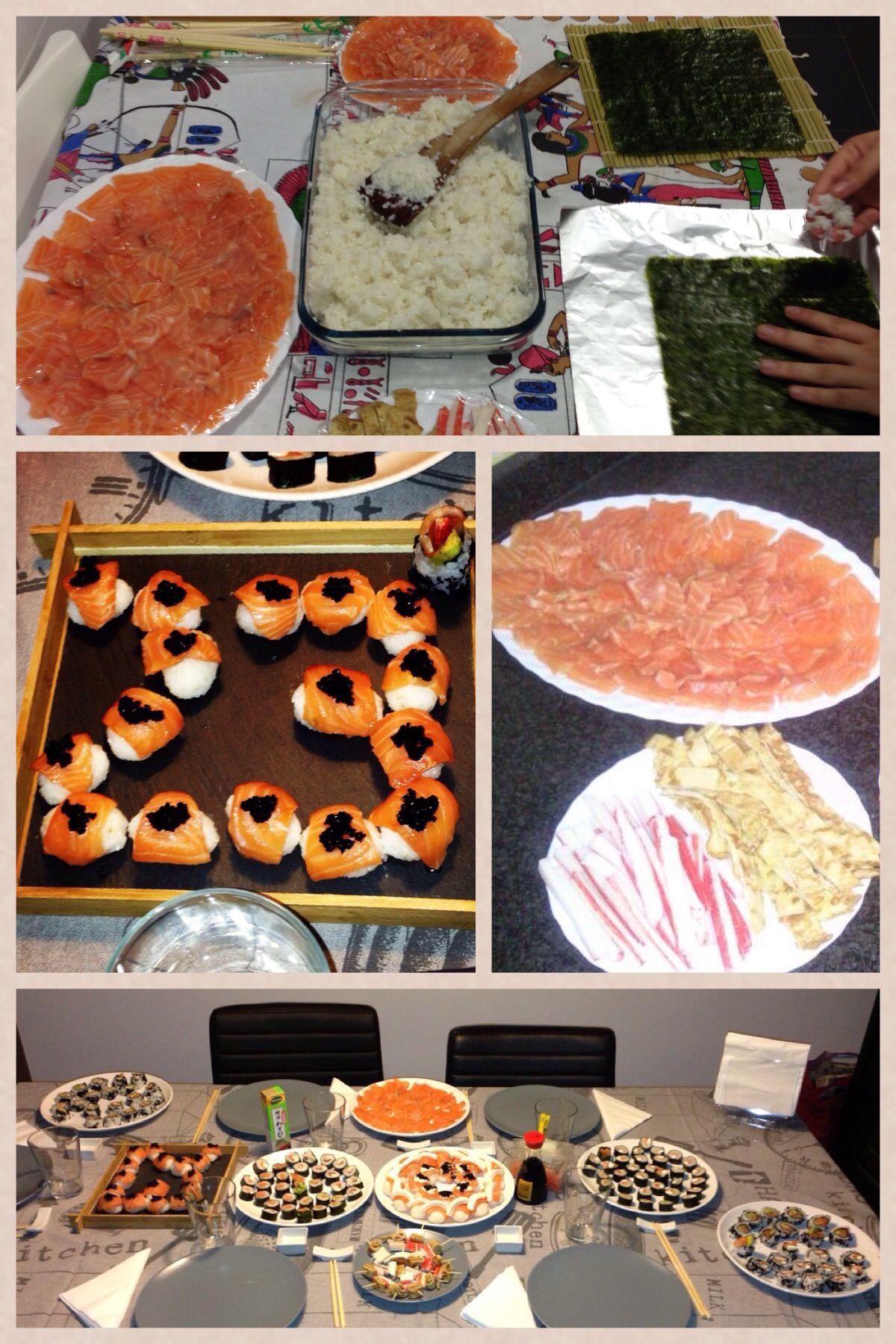 Sushi Bday