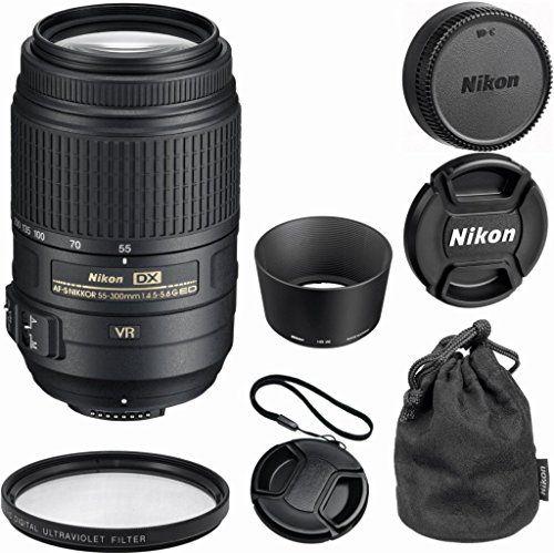 Nikon 55 300mm F 4 5 5 6g Ed Vr Af S Dx Nikkor Zoom Lens For Nikon Digital Slr Bulk Package Deal Pouch Case Uv Filt Nikon Digital Slr Lens Pouch Nikon Lens