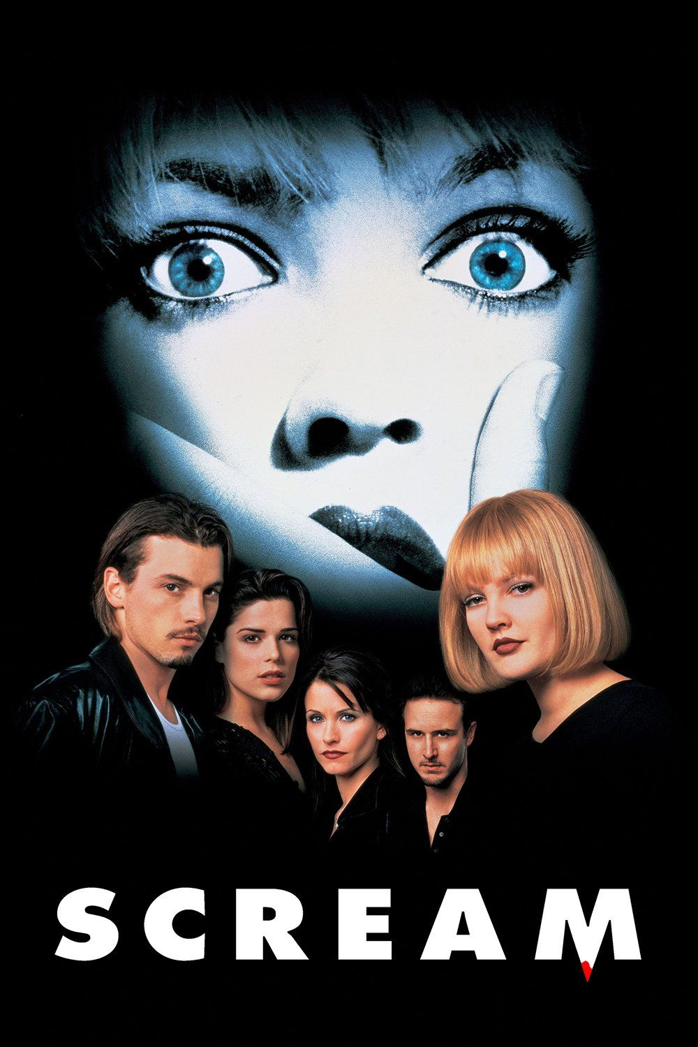 Scream (1996) Movie Review | Pôsteres de filmes, Filmes de terror, Filme  panico