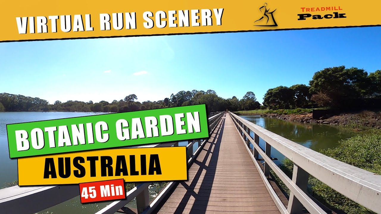 Complete A Virtual Run Through A Botanic Gardens For 45 Minutes This Local Picturesque Botanical Garden Is A Popular Virtual Run Virtual Travel Tourist Spots