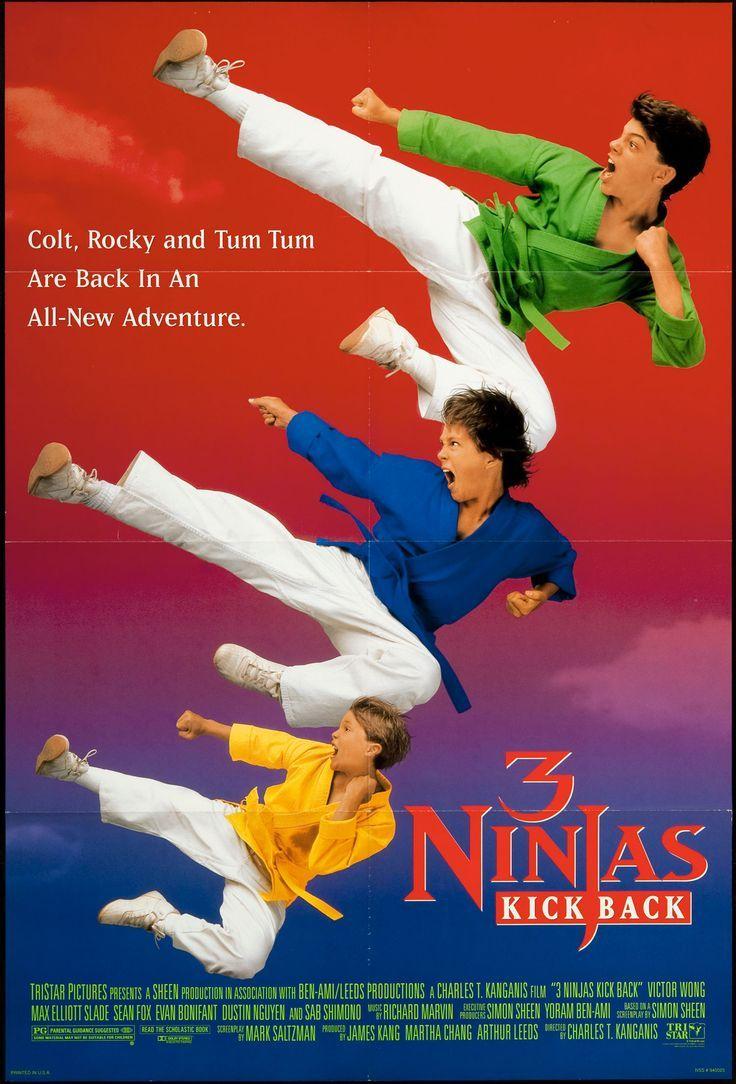 Tres Ninjas Uma Aventura Radical 1992 Filmes Series E Filmes Cinema Filme