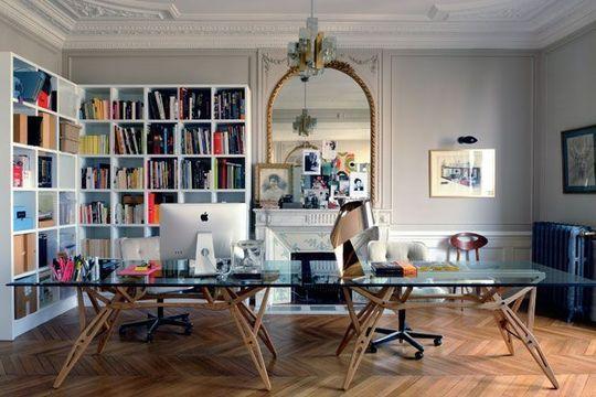 l 39 appart haussmannien de sophie hanniet architecte d coratrice haussmannien sur mesure et mesure. Black Bedroom Furniture Sets. Home Design Ideas