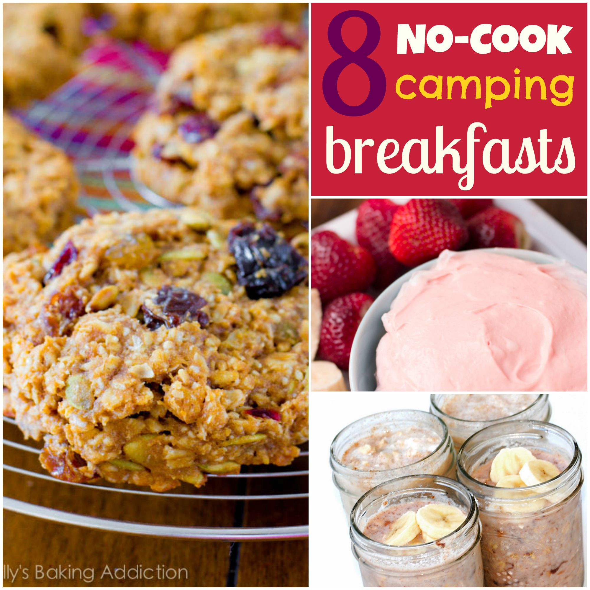 8 Ideas For Easy No Cook Camping Breakfasts Breakfast Easyfood