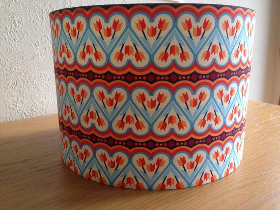 Scandinavian style retro handmade lampshade for by BrightenUpUK