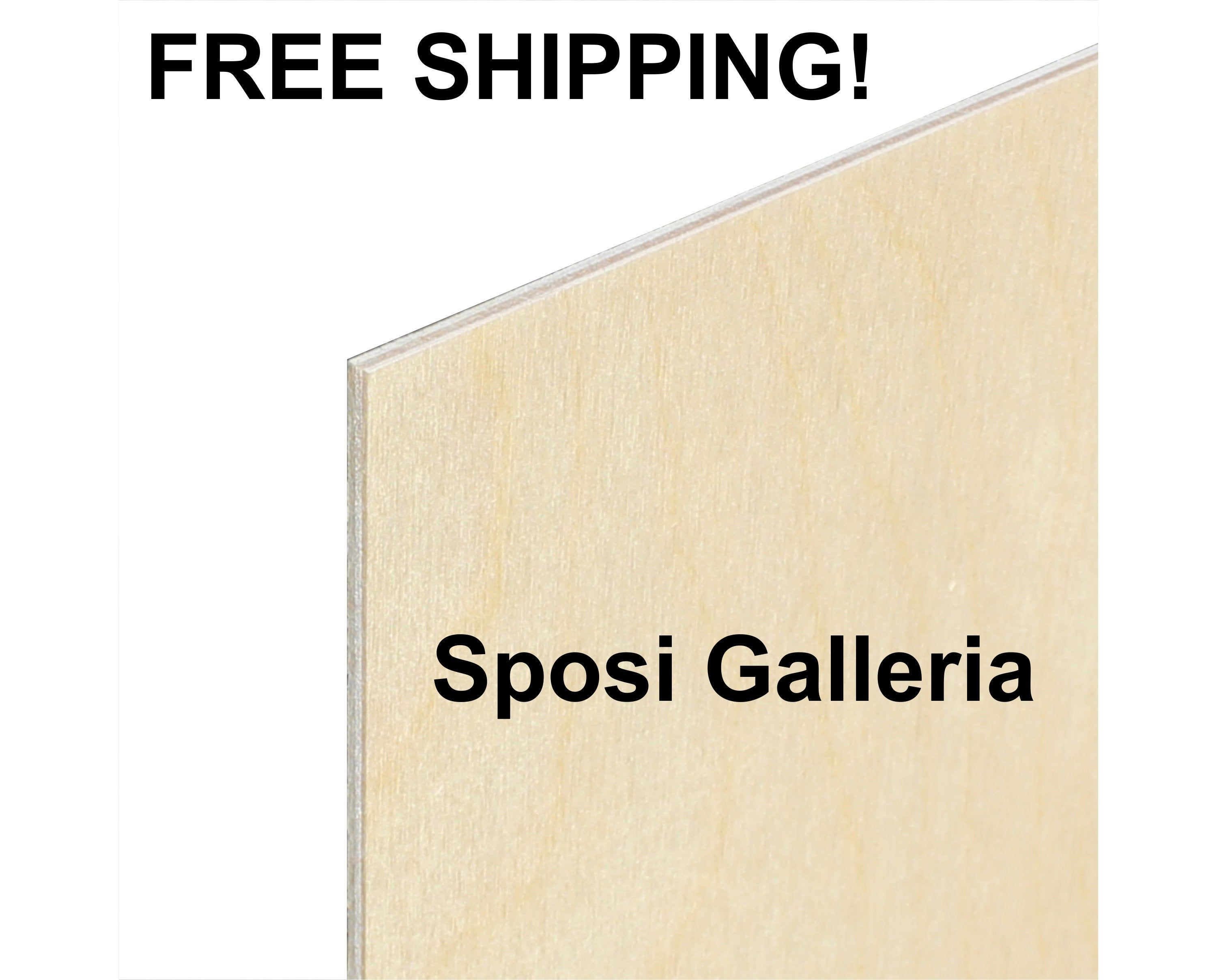 1 8 Birch 11x14 3mm Baltic Birch In 2020 Sign Materials Cast Acrylic Sheet Special Events Decor
