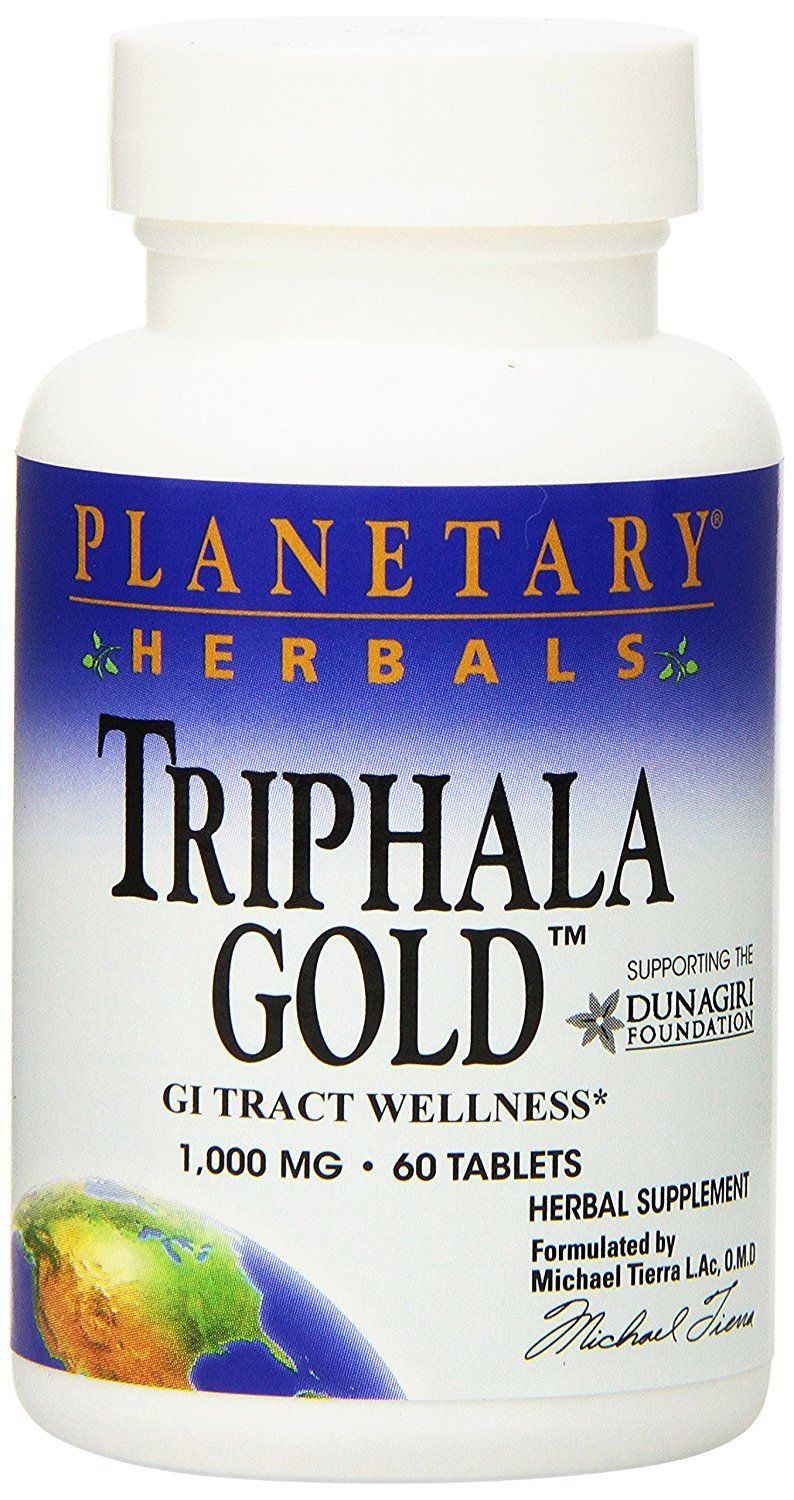 Planetary Herbals Triphala Gold Tablets 1000 Mg 60 Count Herbs Of Breastfeeding Support Remarkable Product Available Now Herbal Supplements