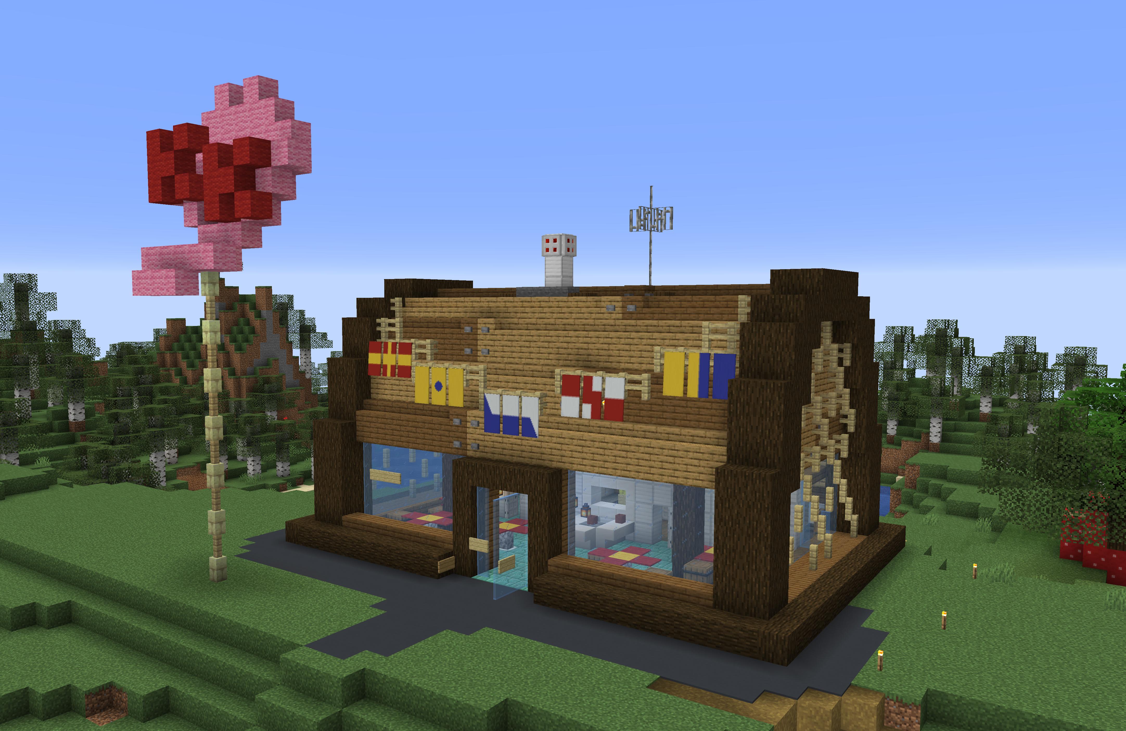 I Built The Krusty Krab In Survival Mode By U  Ynossy In 2020
