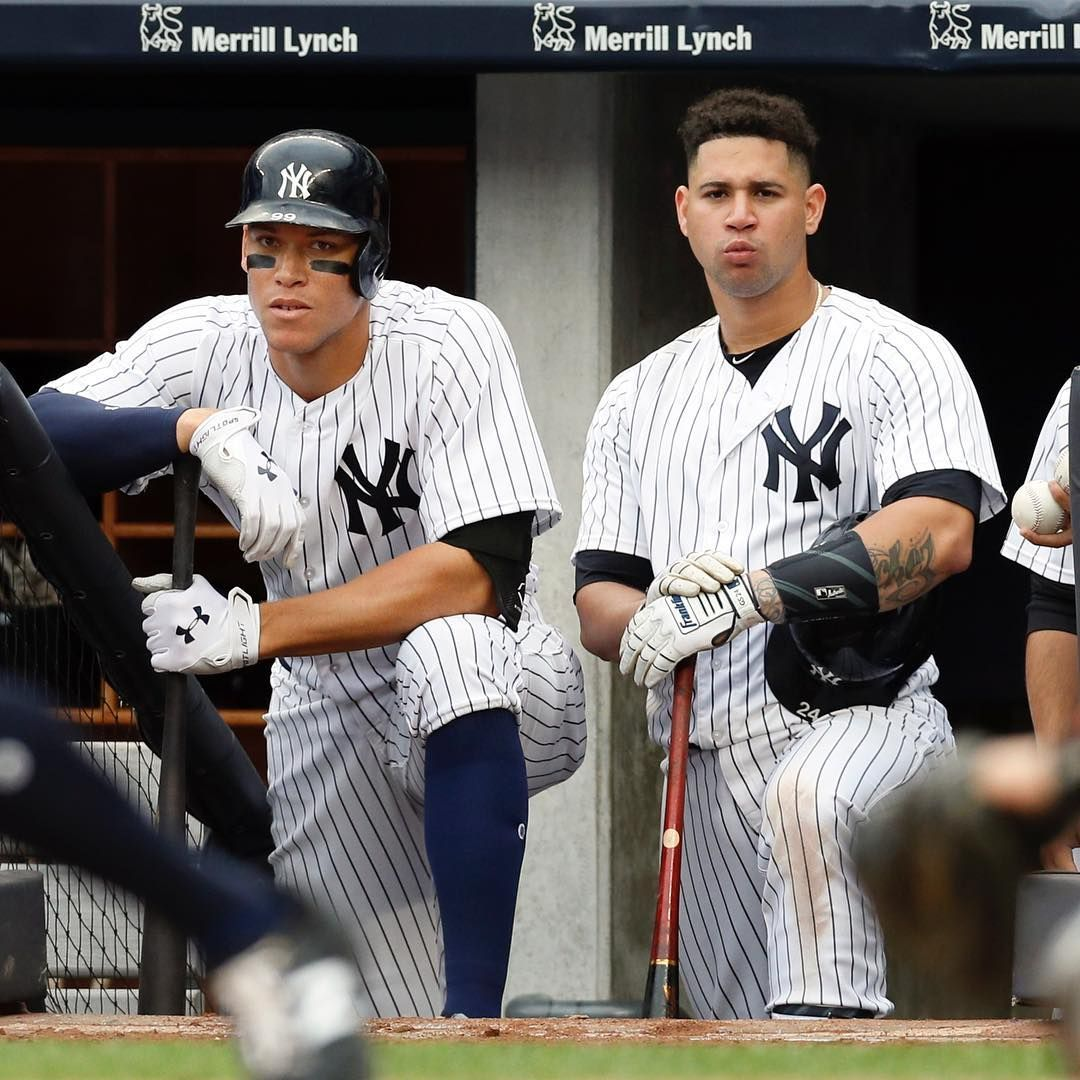 With Aaron Judge (37HR) and Gary ...