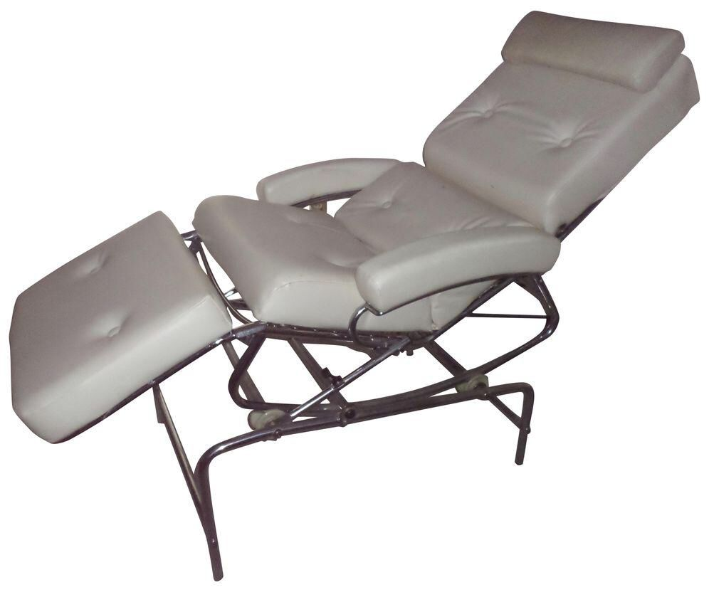 Vintage 1960s Lama Chrome Lounge Massage Chair On Chairish Com
