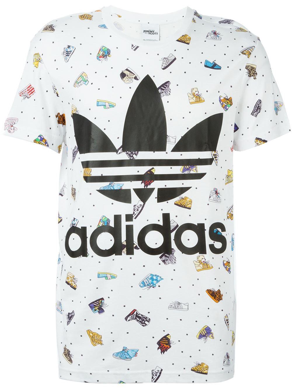 8b17dd06126 Adidas Originals Camiseta estampada