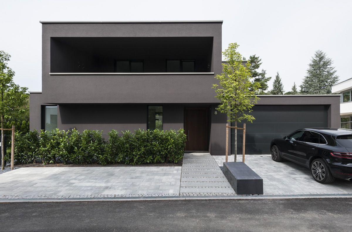 Einfamilienhaus mit einliegerwohnung p cking 2015 for Minimalistisches haus grundriss