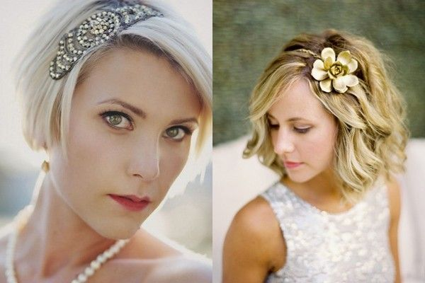 Coiffure cheveux court mariage Hair, Hair styles et