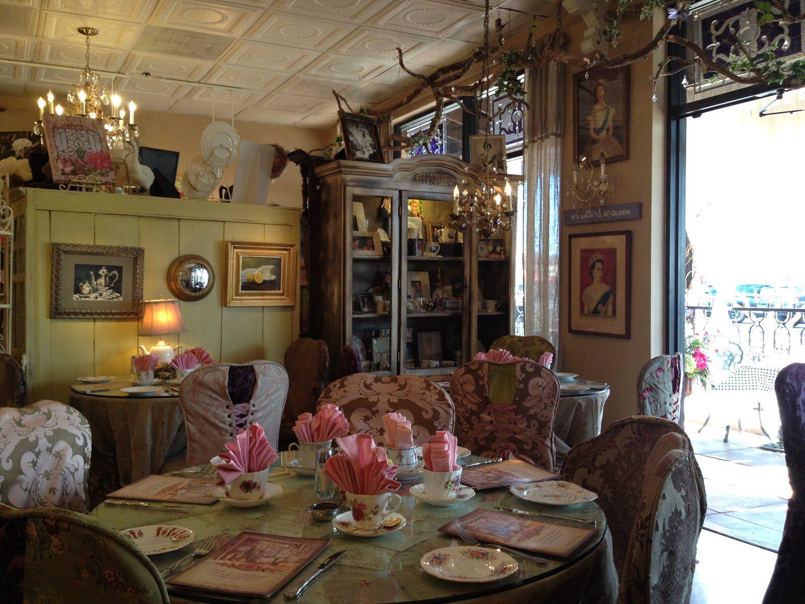 Tea Room Decor Rose Asian