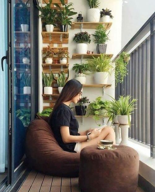 20 Amazing Apartment Balcony Decoration Ideas Eweddingmag Com Small Balcony Garden Balcony Decor Small Balcony Design