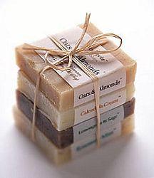 Organic Soap Sampler #soappackaging