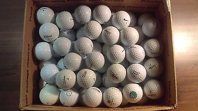Nice Lot Of 100 Used Golf Balls Mixed Brands Great Condition On Sale