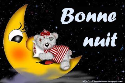 Sms Damour Bonne Nuit Animation Pinterest