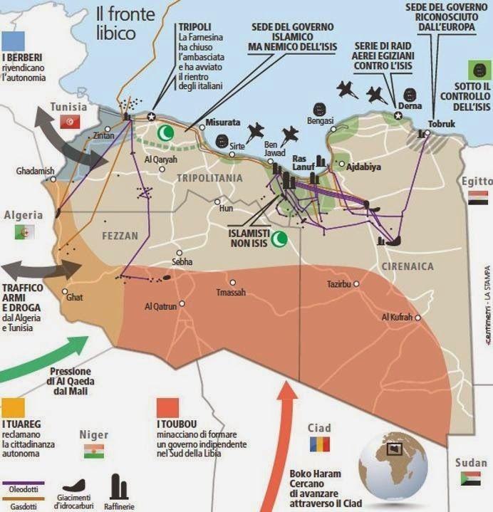 Tra le righe...: Libia, il sì dell'Onu sempre più legato a un accordo fra le fazioni locali